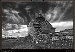 کلیسای سوان. قدیمی ترین کلیسای جهان، از نمونه عکسهای کتاب
