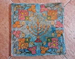 Titkan - Old Mashhad Tile , Qajar Period - 10