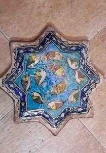 Titkan - Old Mashhad Tile , Qajar Period - 11