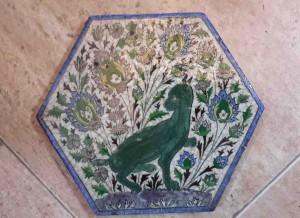 Titkan - Old Mashhad Tile , Qajar Period - 8