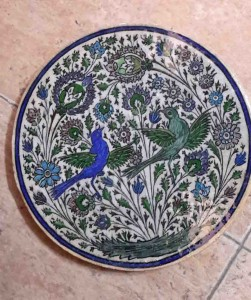 Titkan - Old Mashhad Tile , Qajar Period - 9