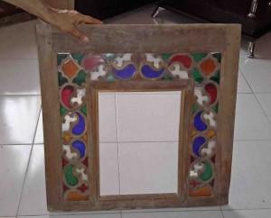 Titkan - old Mashhad window, Qajar period 2