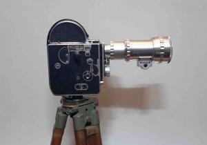 دوربین با سه پایه