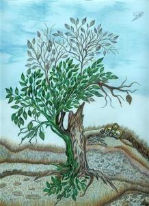 نمونه ای از نقاشی های داخل کتاب